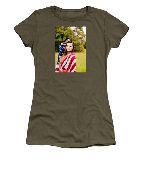 5633 Women's T-Shirt (Junior Cut) by Teresa Blanton