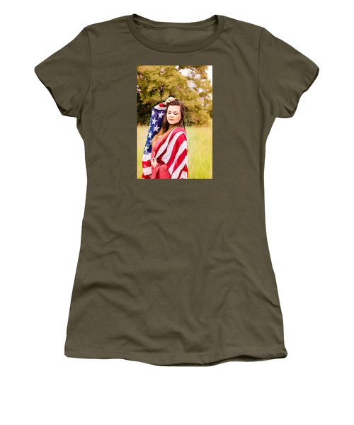 5635-2 Women's T-Shirt (Junior Cut) by Teresa Blanton