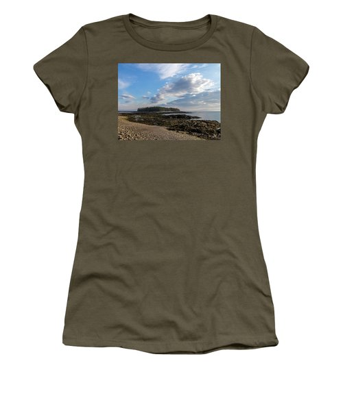 Acadia National Park Women's T-Shirt (Junior Cut) by Trace Kittrell