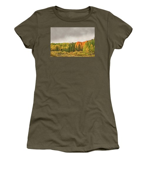Colorado Fall Foliage 1 Women's T-Shirt