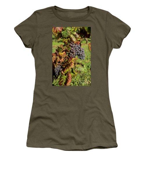 Grapes Growing On Vine Women's T-Shirt