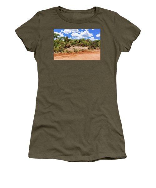 Landscape In Tanzania Women's T-Shirt (Junior Cut) by Marek Poplawski