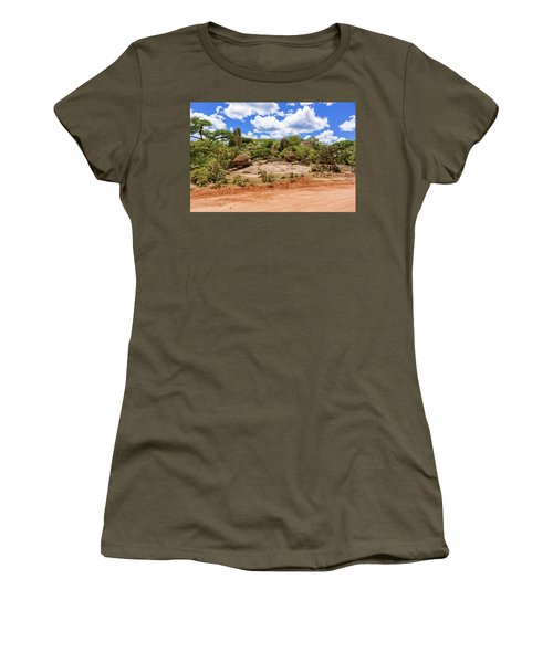 Landscape In Tanzania Women's T-Shirt (Athletic Fit)