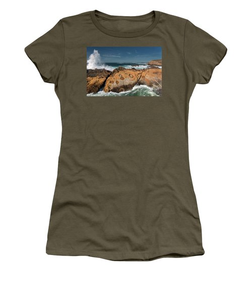 Point Lobos Concretions Women's T-Shirt (Athletic Fit)