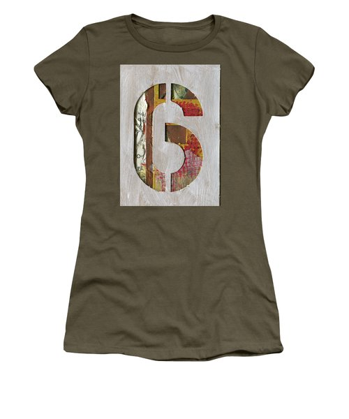 Number 6 Women's T-Shirt (Athletic Fit)