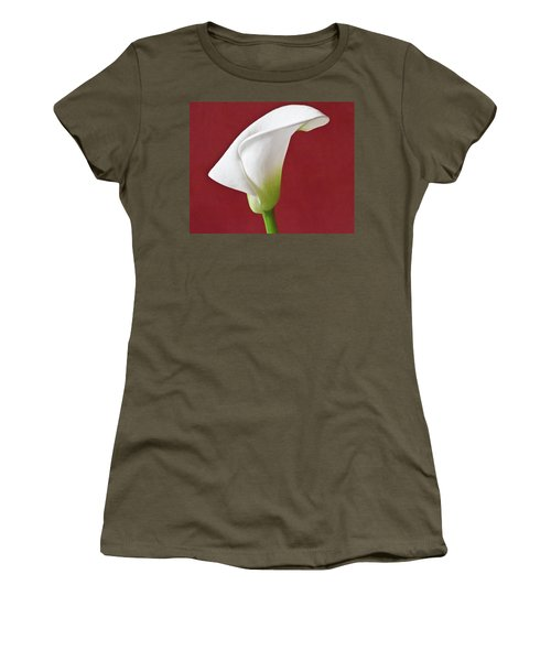 White Calla Women's T-Shirt