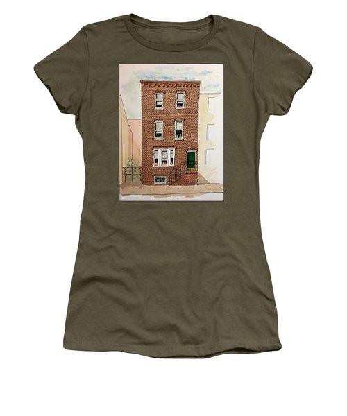 615 South Delhi St. Women's T-Shirt (Junior Cut) by William Renzulli