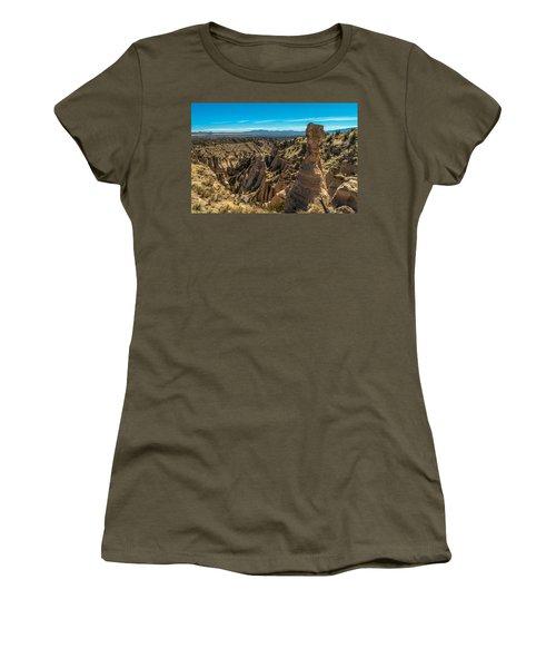 Kasha-katuwe Tent Rocks Women's T-Shirt (Athletic Fit)