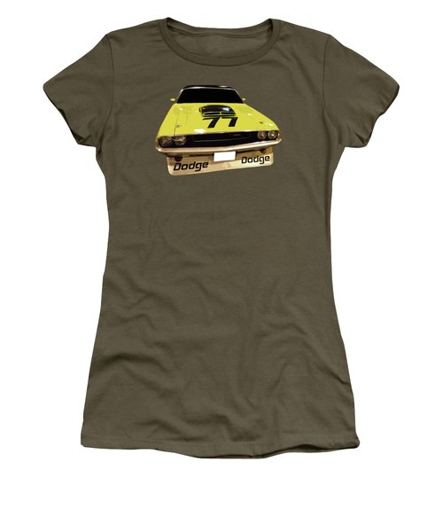 77 Yellow Dodge Women's T-Shirt