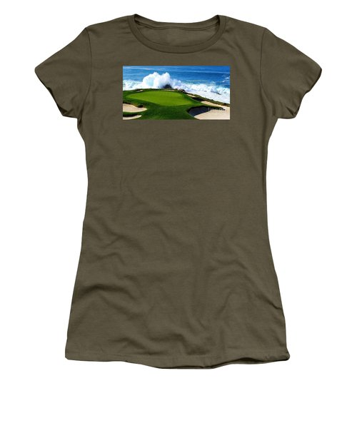 7th Hole - Pebble Beach  Women's T-Shirt