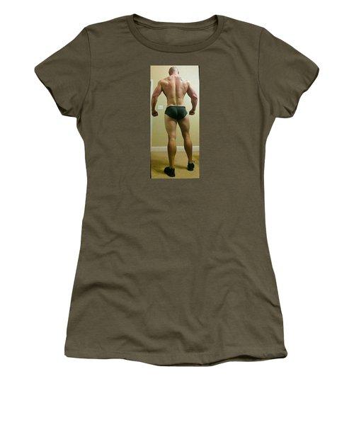 Rear View Women's T-Shirt (Junior Cut) by Jake Hartz