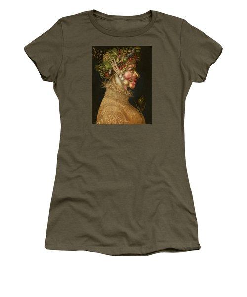 Summer Women's T-Shirt (Junior Cut) by Giuseppe Arcimboldo