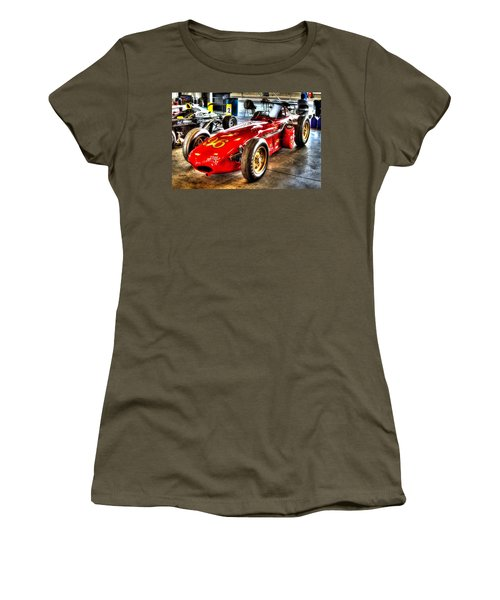 1961 Elder Indy Racing Special Women's T-Shirt (Junior Cut) by Josh Williams