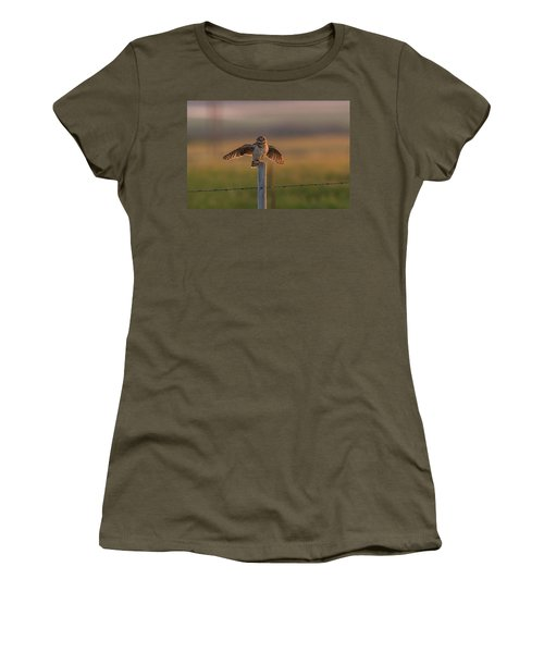 A Balancing Act Women's T-Shirt (Athletic Fit)
