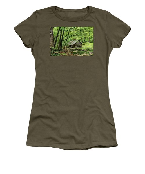 A Cabin In The Woods Women's T-Shirt