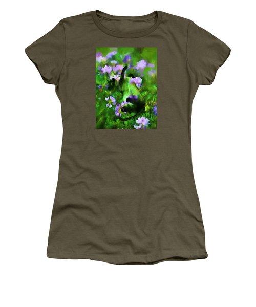 A Cat's Dream Women's T-Shirt