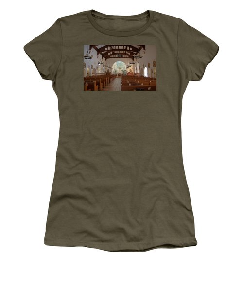 A Church Is Really Never Empty Women's T-Shirt (Junior Cut) by Monte Stevens