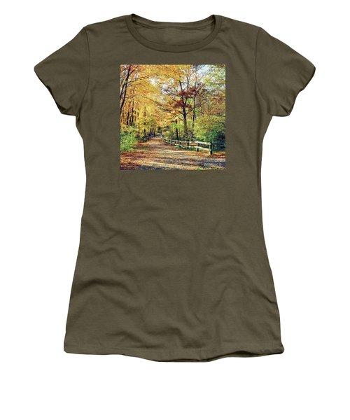 A Colorful Walk Women's T-Shirt