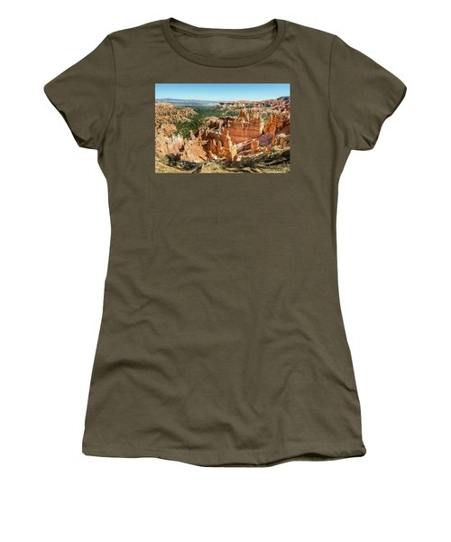 Women's T-Shirt featuring the photograph A Day In Bryce Canyon by Margaret Pitcher