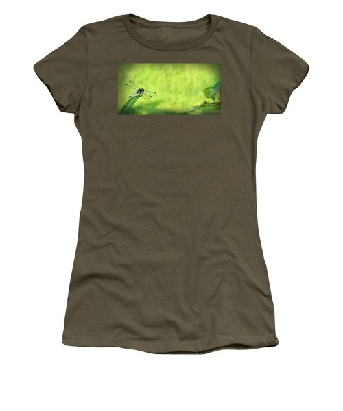 A Day In The Swamp Women's T-Shirt (Athletic Fit)