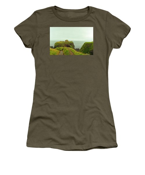A Defensible Position Women's T-Shirt (Junior Cut) by Jan W Faul