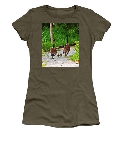A Family Stroll Women's T-Shirt (Athletic Fit)