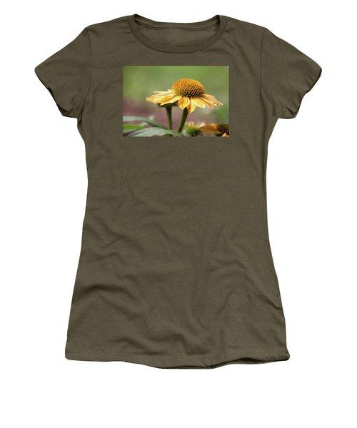 A Golden Echinacea -  Women's T-Shirt (Athletic Fit)