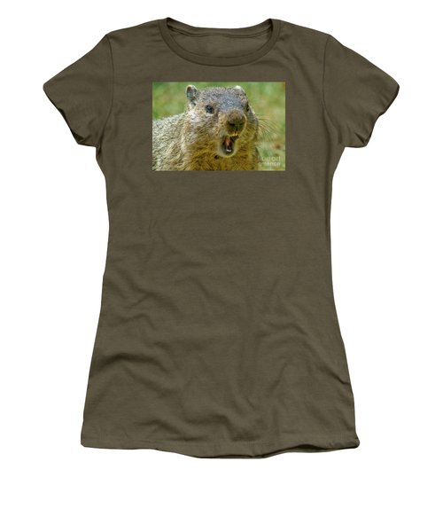 A Hungry Fellow  Women's T-Shirt (Junior Cut) by Paul W Faust - Impressions of Light