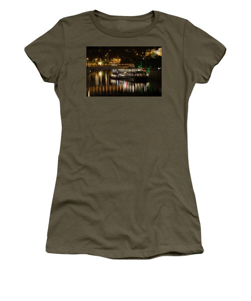 Women's T-Shirt (Athletic Fit) featuring the photograph A Light Dinner by Alex Lapidus