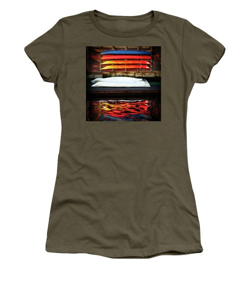 A Little Reflection Before The Adventure Women's T-Shirt