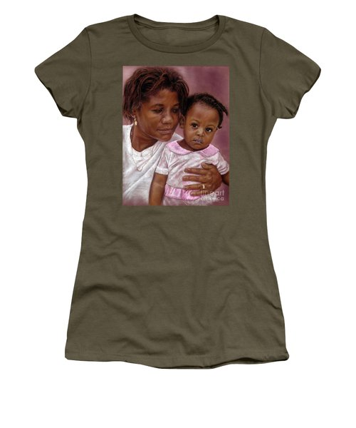 A Mother's Love Women's T-Shirt (Athletic Fit)