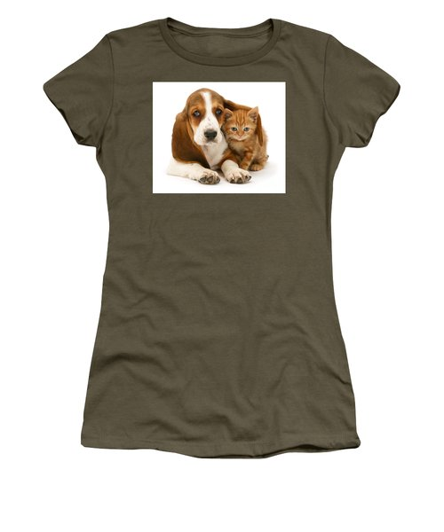 A New Meaning To Cat Flap Women's T-Shirt (Athletic Fit)