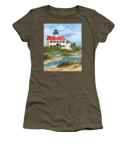 A Nice Day At The Point  Women's T-Shirt (Athletic Fit)