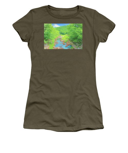 A Peaceful Summer Day In Southern Vermont. Women's T-Shirt