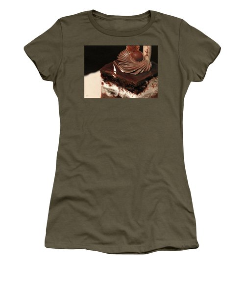 A Piece Of Cake Women's T-Shirt (Athletic Fit)