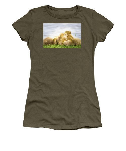 A Pile Of Goslings Women's T-Shirt
