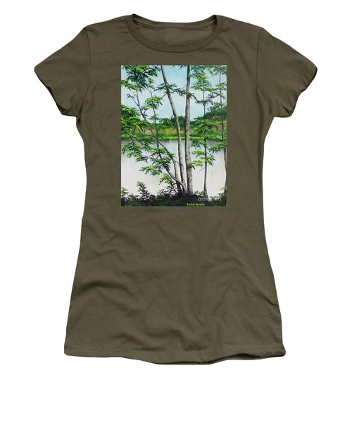 A Place Of Refuge Women's T-Shirt (Athletic Fit)
