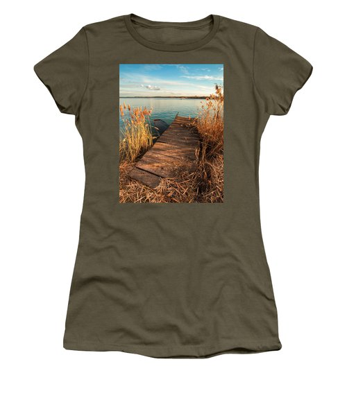 A Place Where Lovers Meet Women's T-Shirt (Athletic Fit)