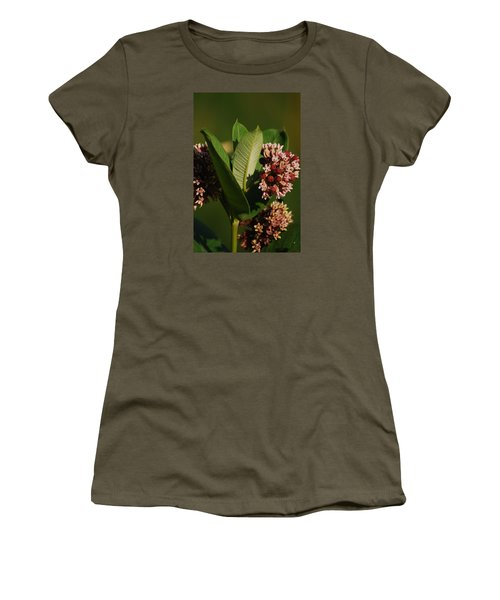 Women's T-Shirt (Junior Cut) featuring the photograph A Pretty Bouquet by Ramona Whiteaker