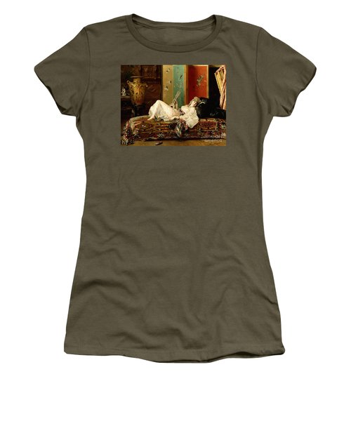 A Reclining Odalisque Women's T-Shirt