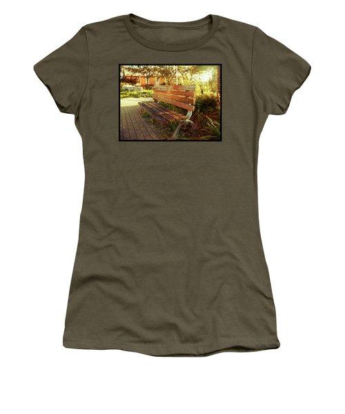 A Restful Respite Women's T-Shirt (Junior Cut) by Shawn Dall