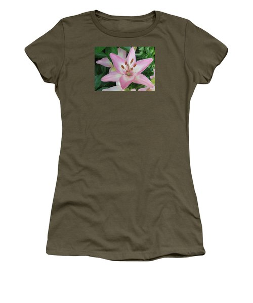 Women's T-Shirt (Junior Cut) featuring the photograph A Star Of Day by Jeanette Oberholtzer