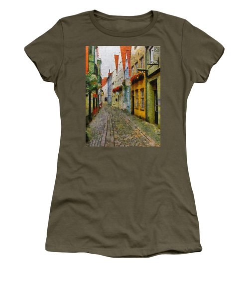 A Stroll Through The Street Women's T-Shirt