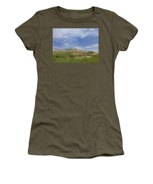 A Summer Day In Dakota Women's T-Shirt