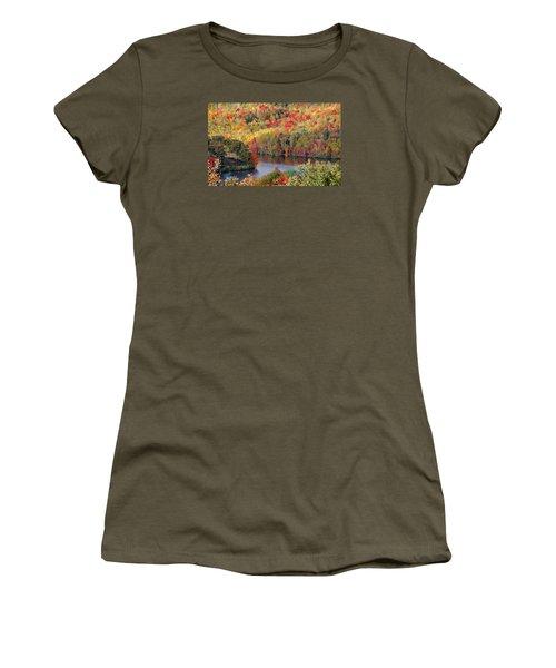 A Tennessee Autumn Women's T-Shirt (Junior Cut) by Debbie Karnes