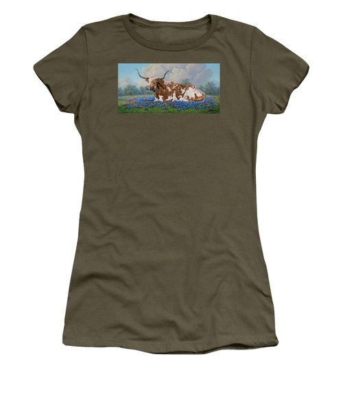 A Texas Welcome Women's T-Shirt (Athletic Fit)