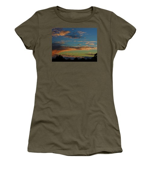 Women's T-Shirt (Athletic Fit) featuring the photograph A Time Long Ago by Mark Blauhoefer