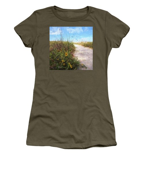 A Trail To The Beach Women's T-Shirt