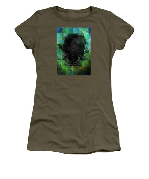 A Very Private Eye Women's T-Shirt (Junior Cut) by Mimulux patricia no No