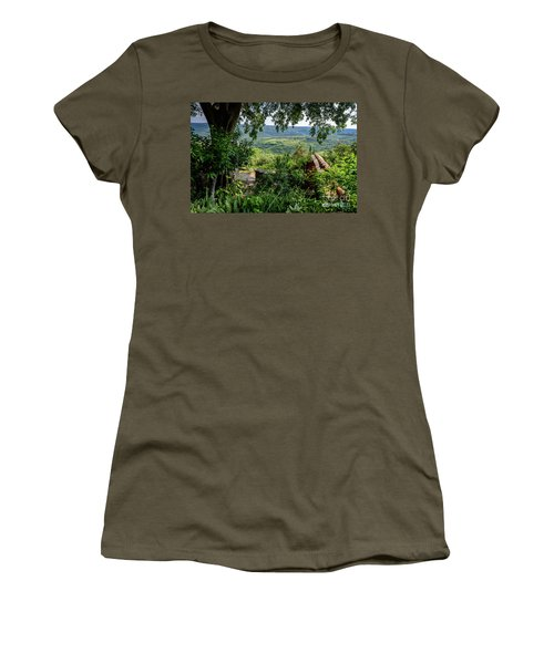 A View From Groznjan Of The Istrian Hill Town Countryside, Istria, Croatia Women's T-Shirt
